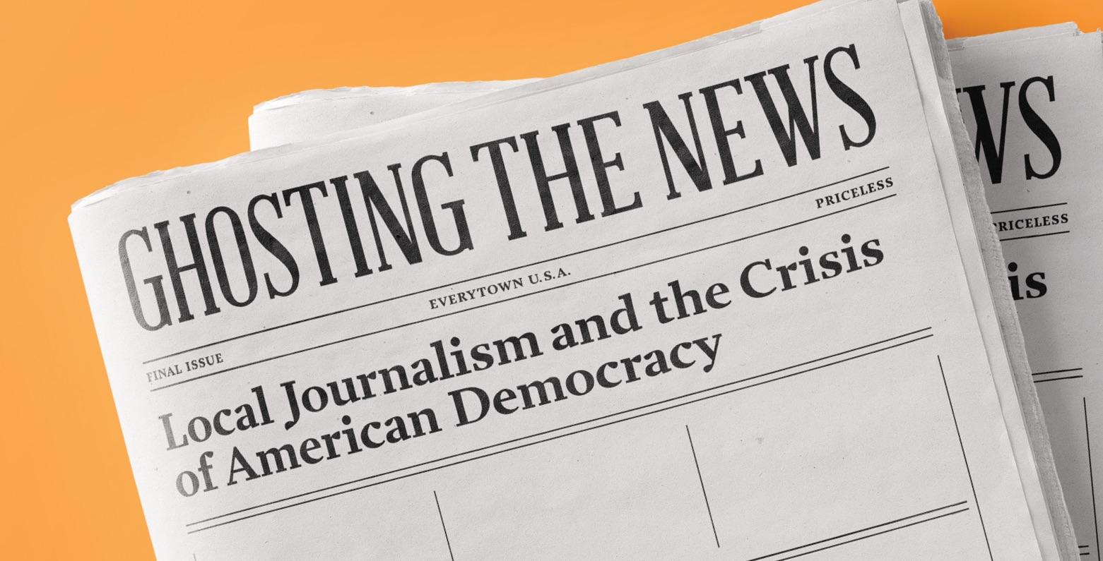 Washington Post's Margaret Sullivan on 'Ghosting the News'